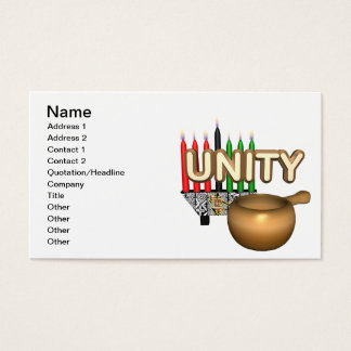 Unity Business Card