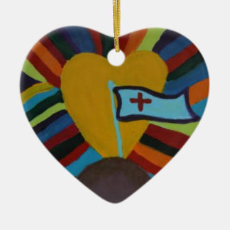 Unity Ceramic Ornament