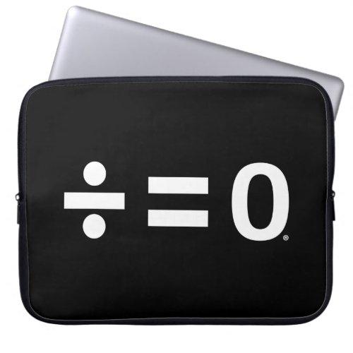 Unity Dark Neoprene Laptop Sleeve 15 inch