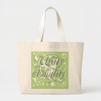 """""""Unity in Duality"""" Carryall Large Tote Bag"""