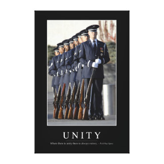 Unity: Inspirational Quote 1 Canvas Print