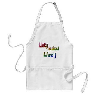 Unity Is about U and I Apron