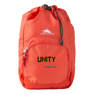 Unity It Ain't Just a Word Backpack