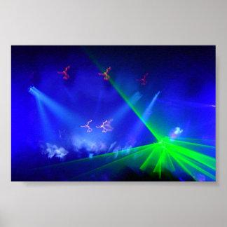 Unity Laser Light Poster