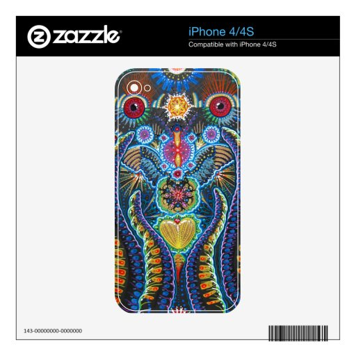 Unity Love Boss iPhone 4/4S Skin Decal For iPhone 4