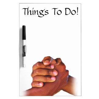 Unity & Love,Hand In Hand_ Dry Erase Board
