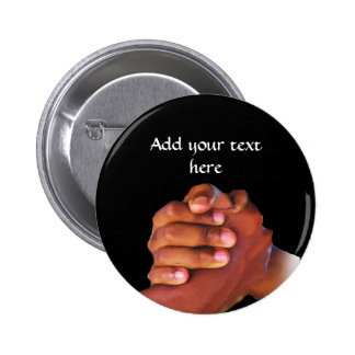 Unity & Love,Hand In Hand_ Pinback Button