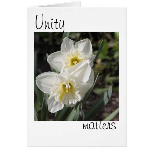 Unity Matters Card