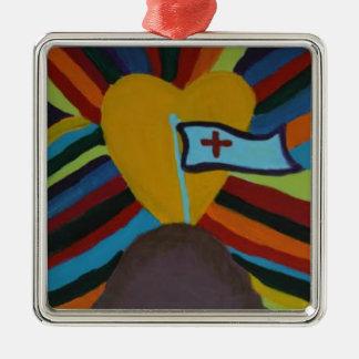 Unity Metal Ornament