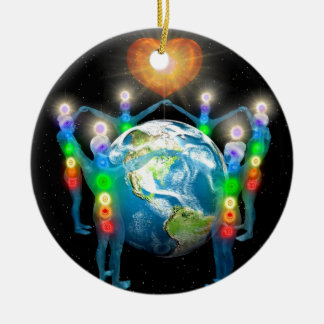 Unity of the Light Ceramic Ornament