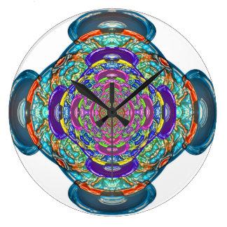 Unity Omen Mandala Clock