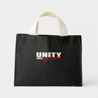 UNITY OVER DIVISION CANVAS BAGS