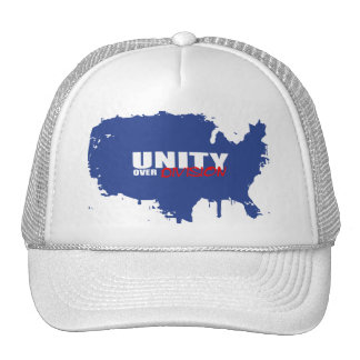 UNITY OVER DIVISION MESH HAT
