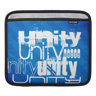 Unity; Royal Blue Stripes iPad Sleeve