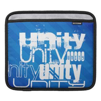 Unity; Royal Blue Stripes iPad Sleeves