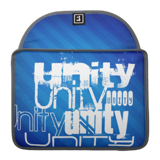 Unity; Royal Blue Stripes Sleeves For MacBook Pro