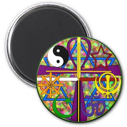 Unity Spiritual Symbols Magnet