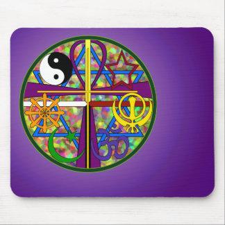 Unity Spiritual Symbols Mouse Pad