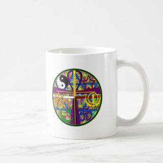 Unity Spiritual Symbols Classic White Coffee Mug