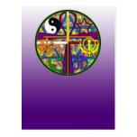 Unity Spiritual Symbols Post Card