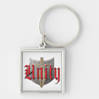 Unity Square Keychain