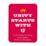 UNITY STARTS WITH U MAGNET