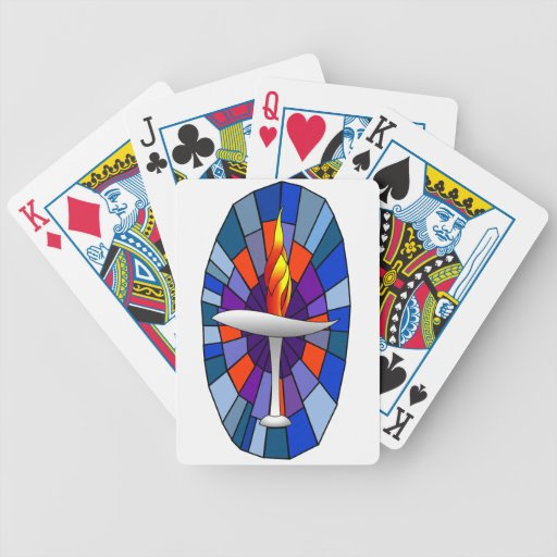 Unity Temple Chalice Playing Cards