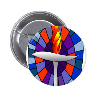 Unity Temple Chalice Products Pinback Button