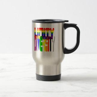 Unity through Diversity Travel Mug (wrap style)