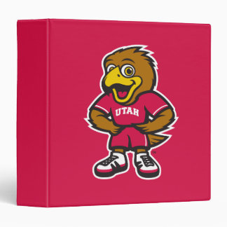 """Univ del logotipo de la juventud de Utah Carpeta 1 1/2"""""""