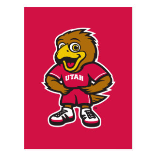 Univ del logotipo de la juventud de Utah Postales
