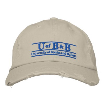 Univeristy of Bombs & Bullets Cap