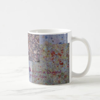 univers and texture coffee mug