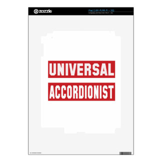 Universal Accordionist. Skins For iPad 2