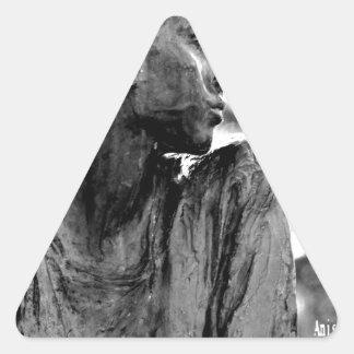 universal art design 2016 tokyo paris moscow triangle sticker