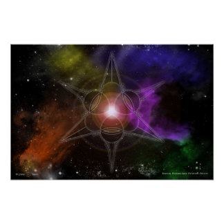 Universal Astrobiological Panspermia Presence Poster