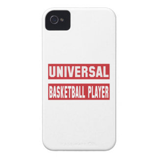 Universal Basketball player. iPhone 4 Case-Mate Cases