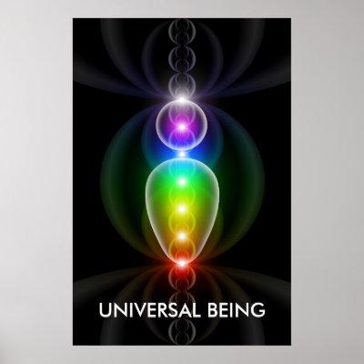 El ser universal - cartel grande posters de Zazzle.