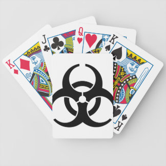 Universal Biohazard Insignia Bicycle Playing Cards