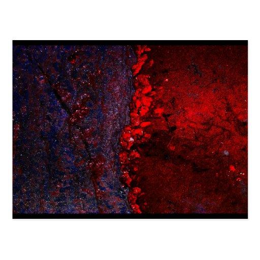 """""""Universal Bleeds"""" JTG Art Postcard"""