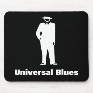 Universal Blues Mouse Pad