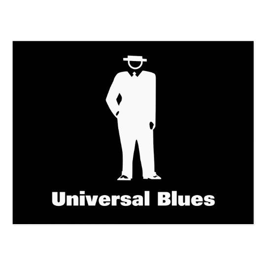 Universal Blues Postcard