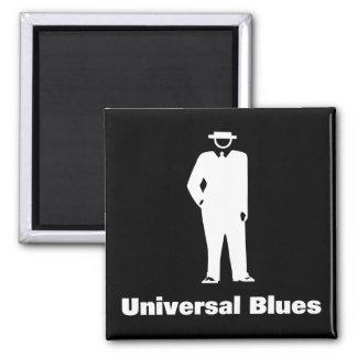 Universal Blues Refrigerator Magnets