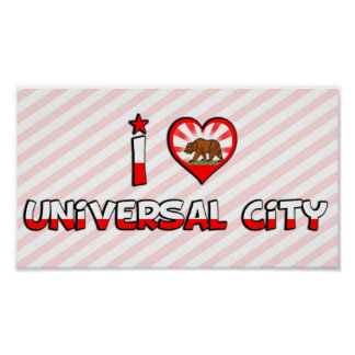 Universal City CA Posters