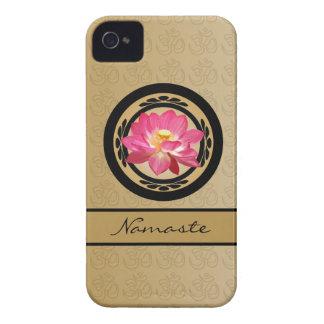 Universal del ambiente del iPhone 4/4S de la flor Funda Para iPhone 4 De Case-Mate