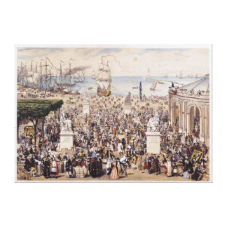 Universal Democratic & Social Republic Canvas Print
