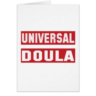 Universal Doula. Card