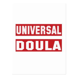 Universal Doula. Postcard