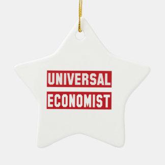 Universal Economist. Ceramic Ornament
