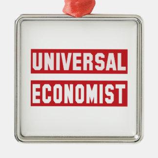 Universal Economist. Metal Ornament